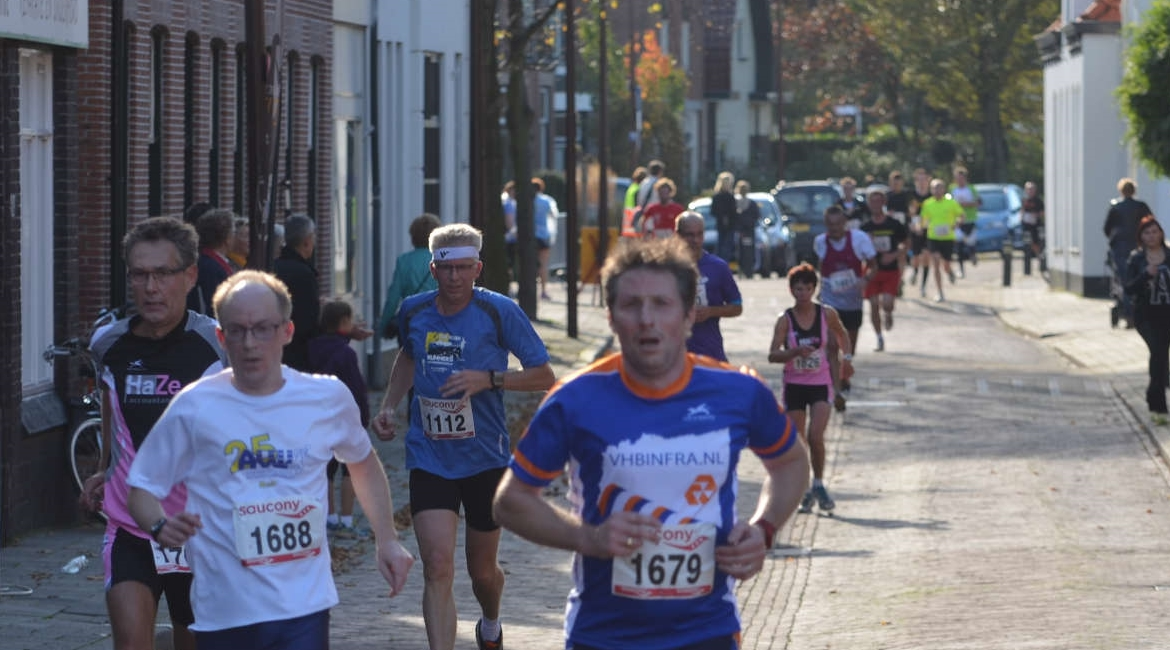 Halve Marathon van Monster